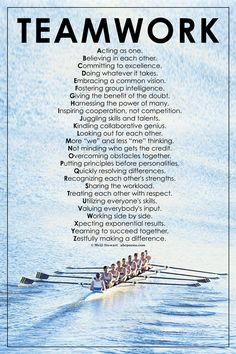 The A-Z of teamwork.  Some lovely ideas here.  www.teambonding.com.au                                                                                                                                                     More