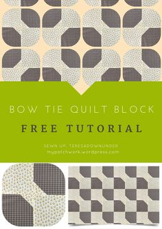 Bow tie is a quick and easy block and you can make many different quilt layouts with it. How to make a quick and easy bow tie quilt block Learn how to make this easy block in less than 2 minutes: […