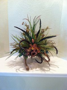 Deer Antler Floral Arrangement  Stylish Rustic by GreatwoodFlorals, $65.00