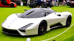 SSC's Tuatara rocks the dyno. The twin-turbocharged 7.0-liter V-8 engine is capable of 1700 hp. - Road & Track