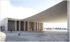 Pavilhão de Portugal, Álvaro Siza Vieira, 1998. Lisboa, Portugal.