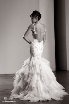 View our Ysa Makino Bridal Gowns and Wedding Dresses featuring luxurious fabric and lace with exquisite hand embroidery - available at our NY Bridal Salons. Bridal Reflections, Bridal Dress Design, Bridal Salon, Special Dresses, Bride Look, Dress Collection, Mother Of The Bride, Dress Making, Bridal Dresses