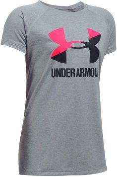 3cf3a4f9bb3b87 Under Armour Solid Big Logo T-Shirt
