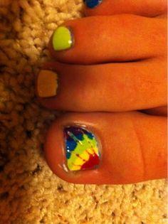 Tye-Dye Nails!!