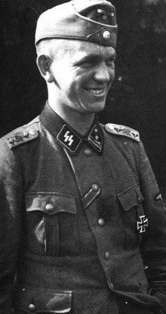 "Kurt Meyer ""Panzermeyer""  Commands held :  14th Anti Tank Company LSSAH 15th Motor Cycle Company LSSAH 1st SS Reconnaissance Battalion LSSAH SS Panzer Grenadier Regiment 25 12th SS Panzer Division Hitlerjugend"