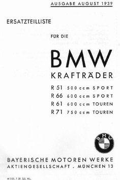 Fallschirmjäger.net - BMW R-71 Technical Drawings