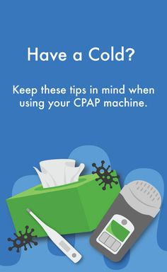 Having a cold can be exhausting, even more so if you can't get quality sleep.That's why we put together a quick guide to using your CPAP machine when you have a cold. Cure For Sleep Apnea, Sleep Apnea Remedies, Natural Sleep Remedies, Sleep Help, Sleep Apnea Devices, Home Remedies For Snoring, Sleep Studies, Memory Problems, Snoring Solutions