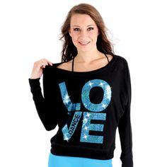 GAR-259  http://shop.justforkix.com/dance/gar-259-love-dance-long-sleeve-tee.html