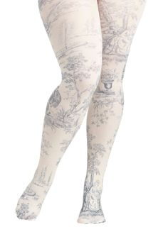 ModCloth A Tale of New Tights in Plus Size