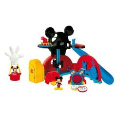 Mickey Mouse Clubhouse Playset - What Ben is asking Santa for for Christmas.