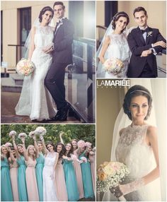 Bridesmaid Dresses, Wedding Dresses, Budapest, Lace Wedding, Hair, Fashion, Rosa Clara, Aire Barcelona, Bridesmade Dresses