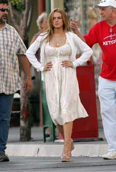 Lindsay Lohan's hair day