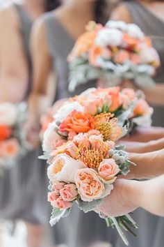 25 Ideas de Arreglos de Flores para Bodas en Otoño - Bodas