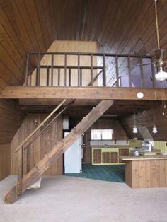 A frame houses interior - House interior