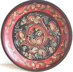 Telemark style.  In the Telemark area rosemaling was the most prolific and advanced in Norway