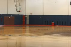 Basketball Courts, located on Pottruck's 2nd floor