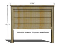 How To Build A Rustic Wood Headboard