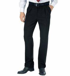 Pantaloni neri (stesso colore del gilet)