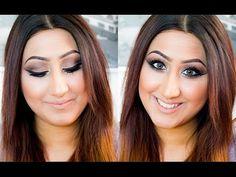Bold Eyeliner ♡ Neutral Shades ♡ Smokey Eye - YouTube