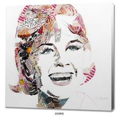 Ines Kouidis Celebrity Canvas Wall Art by Prestige Art Studios - Assorted Styles at 44% Savings off Retail!