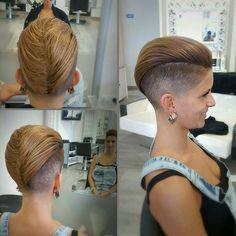 formal short pixie haircut