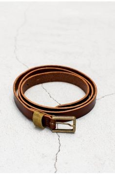 Simple Belt Papaya | $129.00