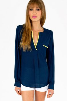 Constant Contrast Trim Blouse $46 http://www.tobi.com/product/49224-tobi-constant-contrast-trim-blouse?color_id=65583_medium=email_source=new_campaign=2013-05-30