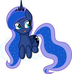 Vector Princess Luna - Princess of the night by KyssS90