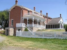 Grant Kohrs Ranch National Historic Site, Montana One of my Favorite National Park Sites.  The kids loved it there.