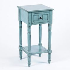 blue table - I want this for our bedroom with white intead of black
