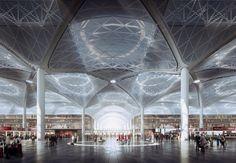 Новый аэропорт Стамбула – воздушная столица Земли. Источник фото: mir.no
