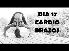 Cardio intenso para quemar - Día 17 Brazos + Espalda - YouTube