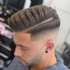 Beautiful the Best Skin Fade Haircut . Inspirational Beautiful the Best Skin Fade Haircut . Comb Over Fade Haircut, Pompadour Fade Haircut, Fade Haircut Styles, Tapered Haircut, Hair And Beard Styles, Undercut Fade, Modern Undercut, Modern Quiff, Quiff Haircut