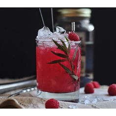 Raspberry Tarragon Moonshine Smash | Food & Wine goes way beyond mere eating and drinking. We're on a mission to find the most exciting places, new experiences, emerging trends and sensations.