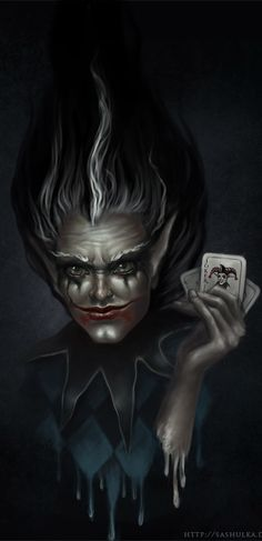 ☆ Joker Demon -::- Artist Alexandra Schastlivaya ☆