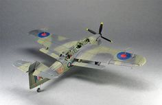 Fairey Barracuda. Mk.2 from old FROG kit in 1:72 scale, by Oleg Tuleninov