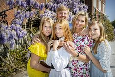 Princess Alexia of the Netherlands says Maxima and Willem-Alexander are good parents Dutch Princess, Prince And Princess, Royal Families Of Europe, Kings Day, Dutch Royalty, Casa Real, Queen Maxima, Royal House, Nassau