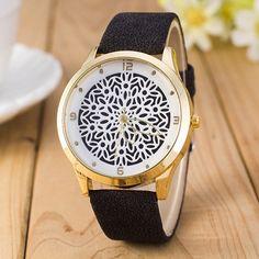 b72fdeef399 2016 Newest Flower Printed Watches Fashion Women Analog Quartz - Week  Market