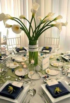 Centro de mesa para bodas!! De alcatraces.
