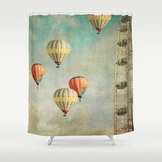 Painting Thoughts Shower Curtain