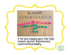 Here's a great game for introducing ideas in probability.