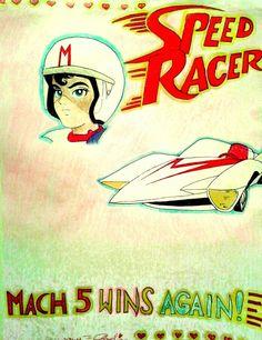 Speed Racer, The Originals, Artwork, Anime, Movie Posters, Work Of Art, Auguste Rodin Artwork, Film Poster, Artworks