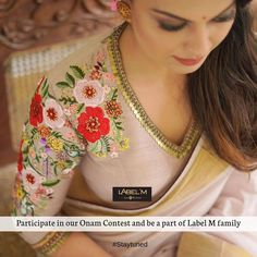 Have you ever wanted to meet and greet LabelM team ? Want to know how LabelM works? Want to spend a day at LabelM atelier? Participate in… Saree Blouse Patterns, Saree Blouse Designs, Sexy Blouse, Work Blouse, Kerala Saree, Half Saree Designs, Cotton Blouses, Pattern Design, Lace Shirts