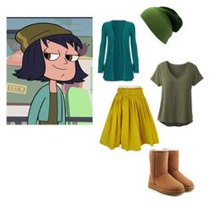 """""""Janna outfit"""" by fashionfabulous4eva on Polyvore featuring Prada, prAna, WearAll and UGG"""