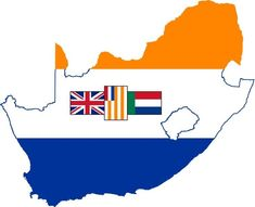 Flag-map of South Africa - Category:SVG maps incorporating flags - Historical - Wikimedia Commons Union Of South Africa, South African Flag, South African Air Force, African History, African Art, 4th Of July Images, Military Pictures, Tactical Survival, Ol Days