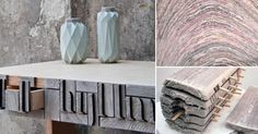 Un novedoso material que permite al mismo tiempo reciclar papel y evitar la tala de árboles para obtener madera.