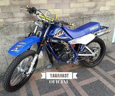 DT 175 Azul  Yamaha Dt Yamaha, Yamaha Motorcycles, Motocross, Motorbikes, Ferrari, Honda, Baile Latino, Rock, Templates