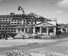 Berlin 1945 KaDeWe und U-Bahnhof Wittenbergplatz