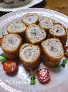 「豚しゃぶしゃぶ肉でジューシーカツ」chococo | お菓子・パンのレシピや作り方【corecle*コレクル】