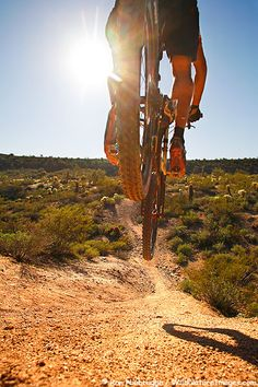Summers mountain biking will provide a thrilling workout (in Fountain Hills).